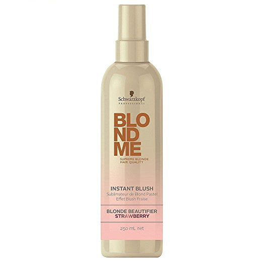 BLONDME Instant Blush Temporary Hair Color - Strawberry-  250ML