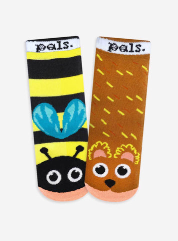 PALS Bear & Bee Socks