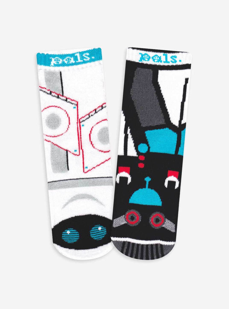 PALS Space Robot & Earth Robot Socks