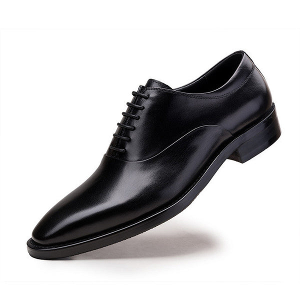 Men Leather Italian Pointed Toe Dress Classy Shoes, Men Shoes, Stylenol- Stylenol