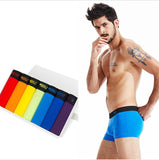 7 Pcs/lot Plus Size Breathable Underwear, Men Underwear, Stylenol- Stylenol