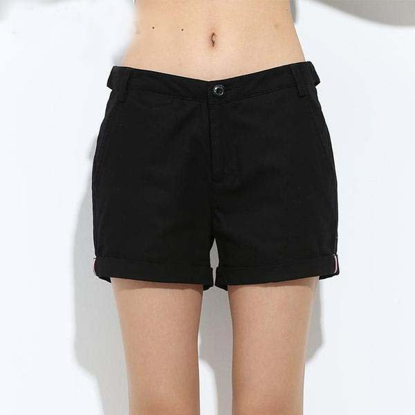 Slim Fitted Military Shorts, Shorts - Stylenol