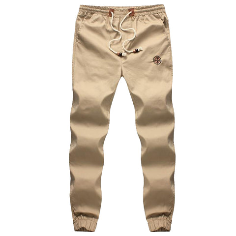 New Drawstring Casual Cotton Elastic Waist Jogger Men Sweatpants, Men Pants, Stylenol- Stylenol