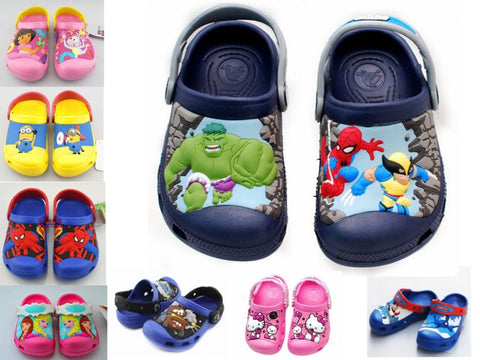 Elsa Anna Dora Minion Spiderman 3D Cartoon Girls Shoes, Girl Shoes, Stylenol- Stylenol