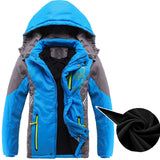 Double Deck Waterproof Windproof Thicken Boys Girls Jacket, Jackets, Stylenol- Stylenol
