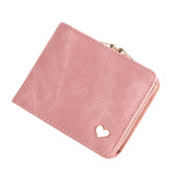 Women Lovely Heart Clutch Wallet, Wallet, Stylenol- Stylenol