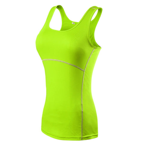 Compression Sleeveless Cami Vest Tank Top, Tops, Stylenol- Stylenol