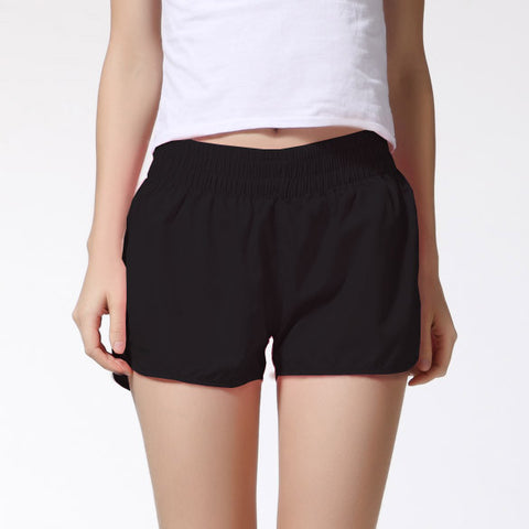 Soft Cotton Elastic Waist Causal Shorts, Shorts - Stylenol