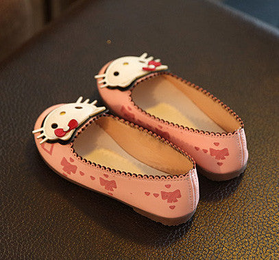 Girls Cartoon Cat Rabbit Flats Shoes, Girl Shoes, Stylenol- Stylenol