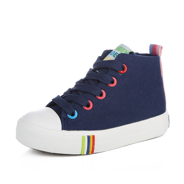 Girls New Canvas Candy Sneakers, Girl Shoes, Stylenol- Stylenol