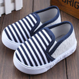 Unisex Canvas Child Casual Loafers, Kids Shoes - Stylenol