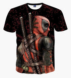 Deadpool Superhero Teenagers Boys Comic T-Shirt, T-Shirt, Stylenol- Stylenol