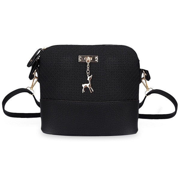 Women Shoulder Mini Handbag With Deer, Handbags - Stylenol