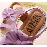 Girls New Princess Bowtie Flat Sneakers, Girl Shoes, Stylenol- Stylenol
