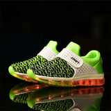 Unisex Breathable USB Luminous Lighted Casual Shoes, Kids Shoes - Stylenol