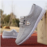 Men New Breathable Flats Lightweight Athletic Shoes, Men Shoes, Stylenol- Stylenol