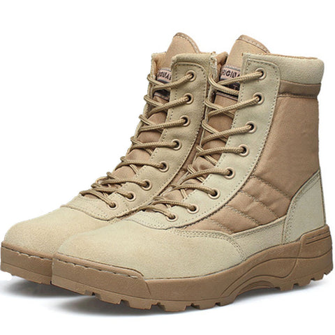 Men Desert Tactical Military Combat Boots, Men Boots, Stylenol- Stylenol