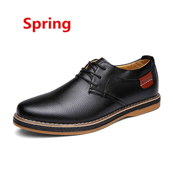 Men Faux Leather Round Toe Formal Dress Shoes, Men Shoes, Stylenol- Stylenol