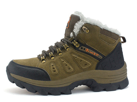 Men New Warm Fur Snow Boots, Men Boots, Stylenol- Stylenol