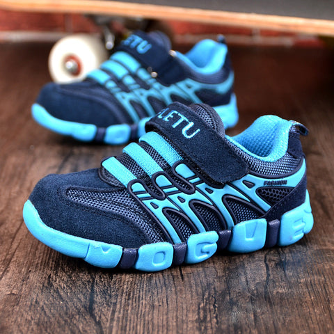 Unisex Leather Outdoor Breathable Sport Casual Shoes, Kids Shoes - Stylenol