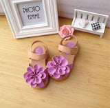 Girls New Comfortable Flower Sandals, Girl Shoes, Stylenol- Stylenol