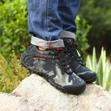 Men Outdoor Mountain Hiking Boots, Men Boots, Stylenol- Stylenol