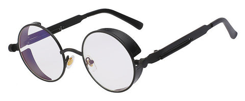 Men Gothic Steampunk Mirror Sunglasses, sunglasses, Stylenol- Stylenol