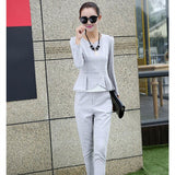 2 Pcs New Elegant Office Wear Casual Suits, Suits, Stylenol- Stylenol