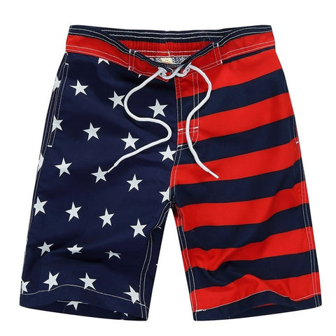 Quick Dry Polyester Elastic Waist Cartoon Cat Boys Swimming Surf Shorts, Boys Shorts - Stylenol