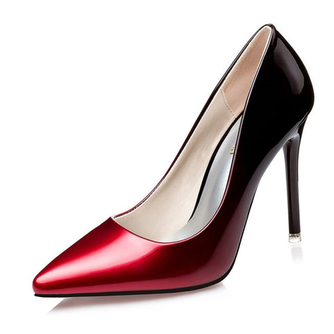 Women Gradient High Heels Pump Shoes, Pump Shoes - Stylenol