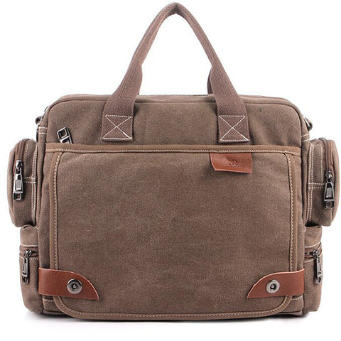 Men Vintage Multifunction Crossbody Casual Messenger Bag, Messenger Bags, Stylenol- Stylenol