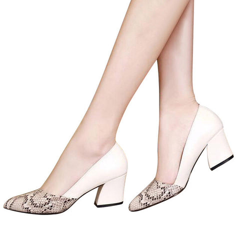 Women Low Heels Elegant Casual Shoes, Women Shoes - Stylenol