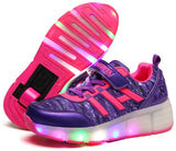 Unisex LED Lighted Breathable Kids Casual Shoes, , Stylenol- Stylenol