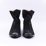 Women Leather Motorcycle Ankle Leisure Boots, Boots - Stylenol