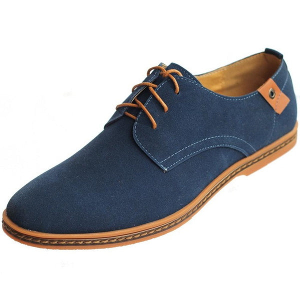 Men New Leather Oxford Flat Casual Shoes, Men Shoes, Stylenol- Stylenol