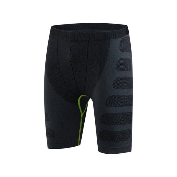 Compression Quick Drying Tight Elastic Waist Skinny Men Shorts, Men Shorts, Stylenol- Stylenol