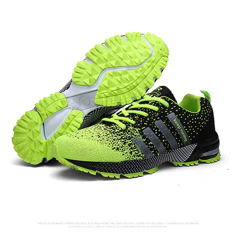 Men Fly Weave Light Breathable Casual Massage Shoes, Men Shoes, Stylenol- Stylenol