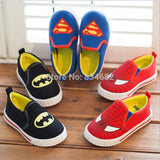 Unisex Superman Spiderman Batman Kids Shoes, Kids Shoes - Stylenol