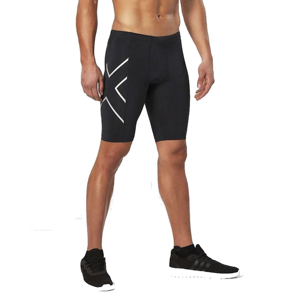 Premium New Bermuda Surf Compression Tight Men Lycra Anti-Bacterial Shorts