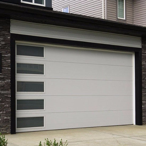 shop roll buffalo a steel magnificent doors single door brown garage