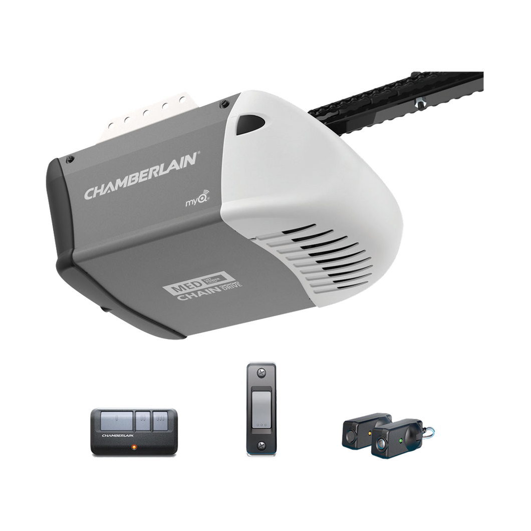 Chamberlain 1/2 HP Durable Chain Drive Garage Door Opener