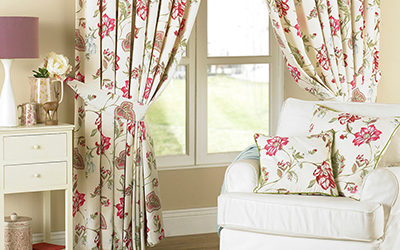 Curtains Cushions