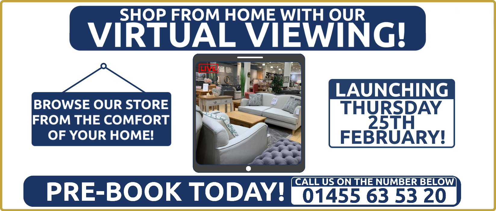 Shop From Home With Our Virtual Viewings!