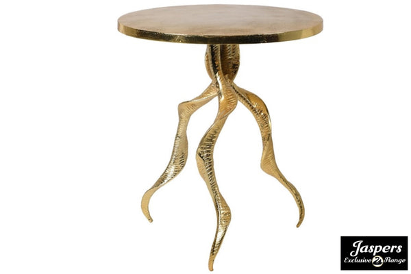 Gold Horn Leg Table