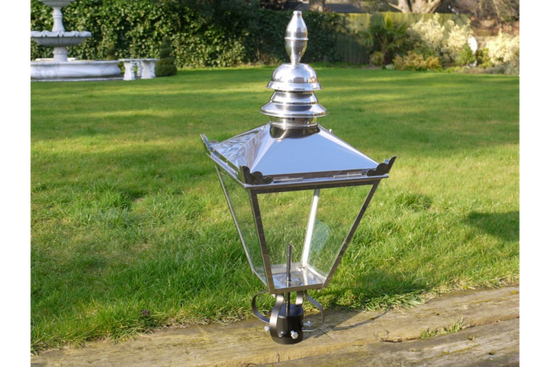 Stainless Steel Lamp Top