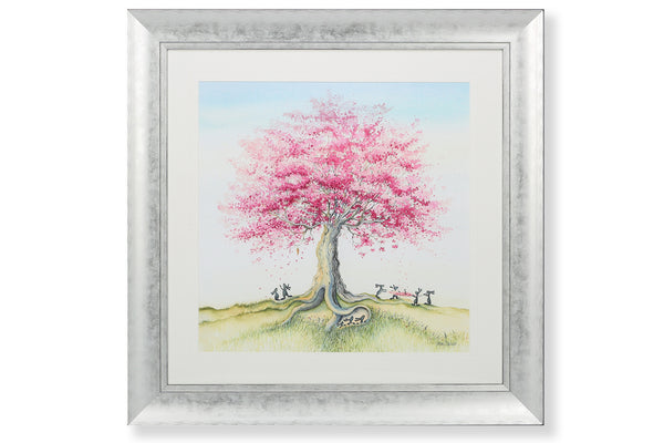 'Catching The Blossom' Wall Art