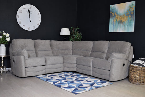Metro Electric Recliner Cornergroup Sofa - Mink