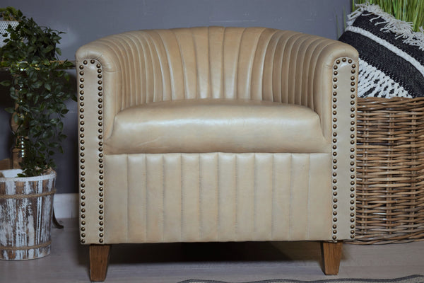 Studded Tub Chair