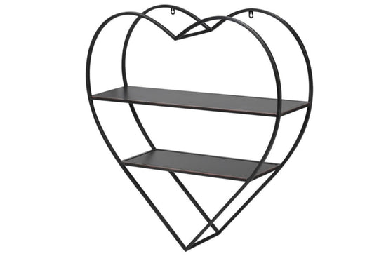 Heart Shaped Wall Shelves