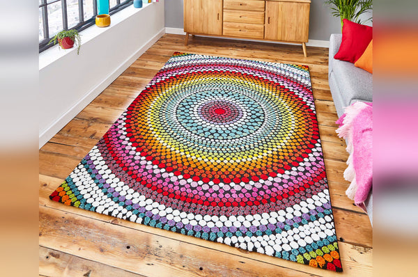 Mosaic Rug - Available in Different Sizes